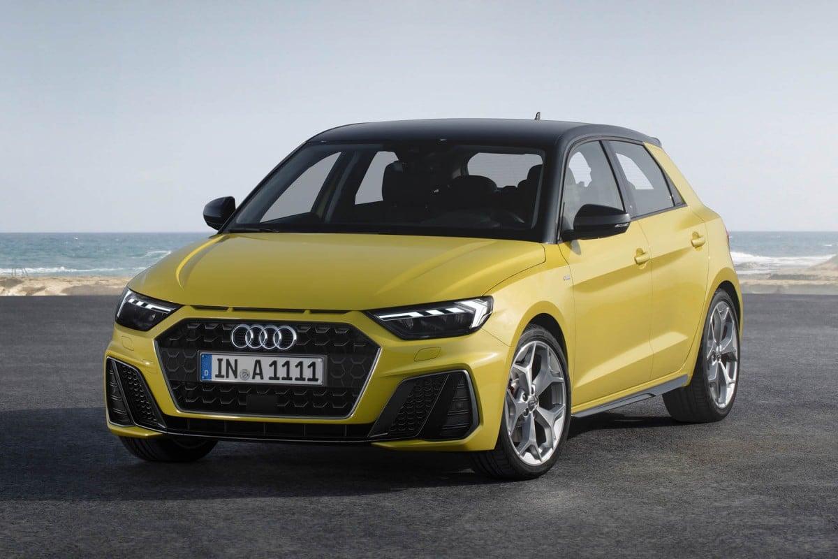 L'image de la nouvelle citadine Audi A1