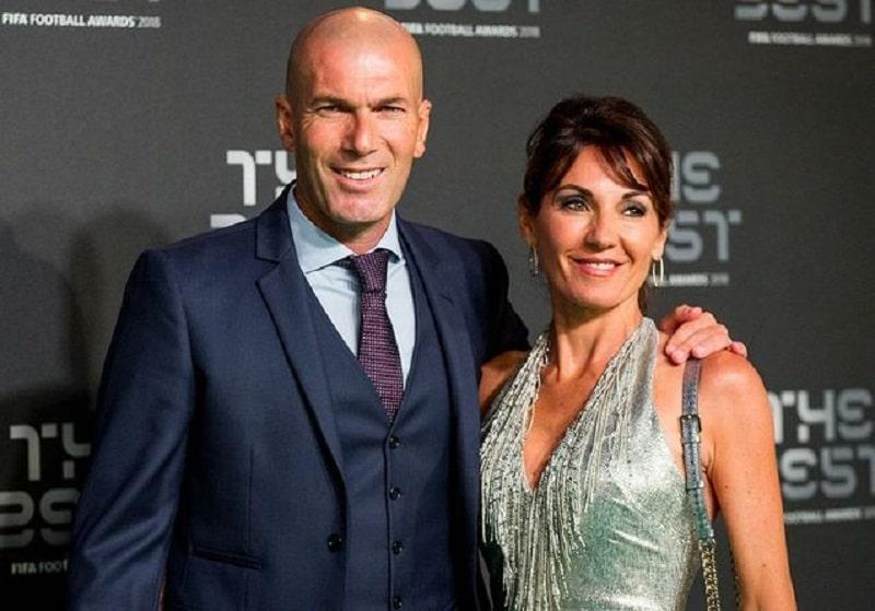 Qui est la femme de Zinédine Zidane